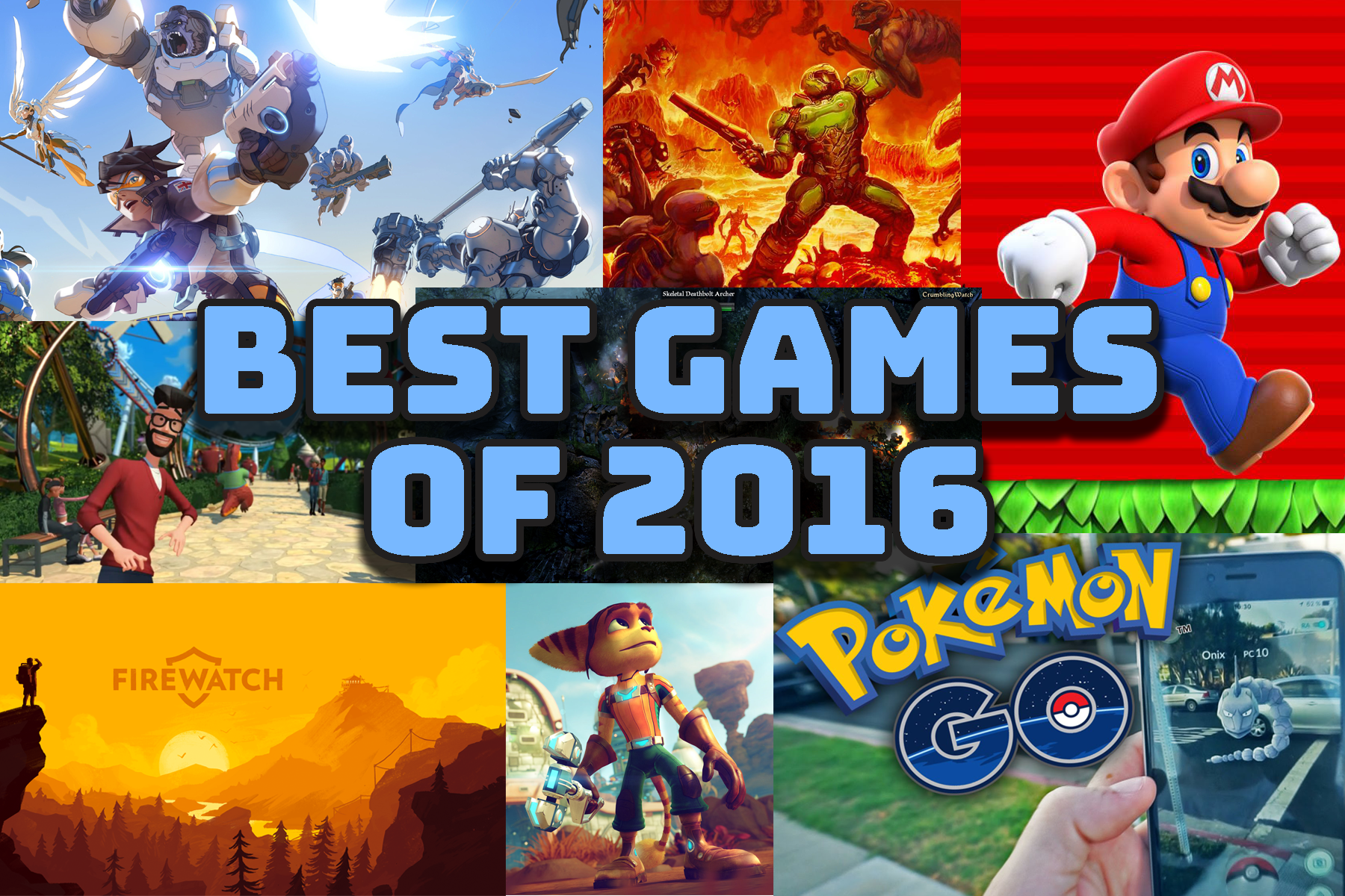 Best Games 2016 - Keep It Nerdy